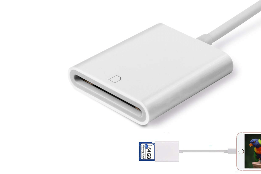 goldfox sd card reader for iphone