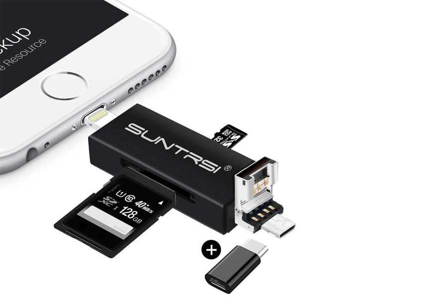 iphone sd card reader suntrisi