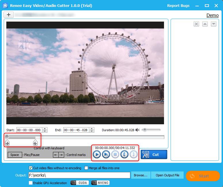 how to drag the progress bar to shorten a video