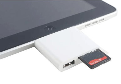 connect sd card to ipad