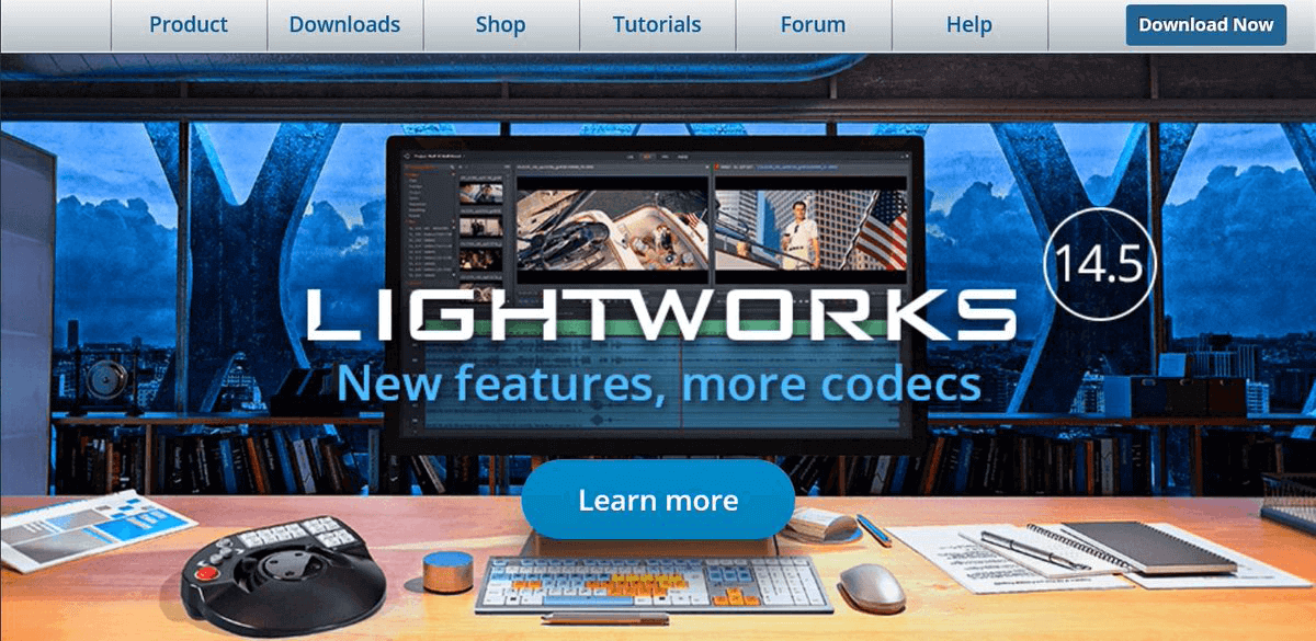 how to use free video editing software lightworks