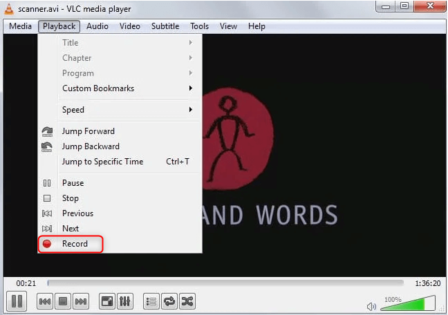 cut videos with vlc by cutting
