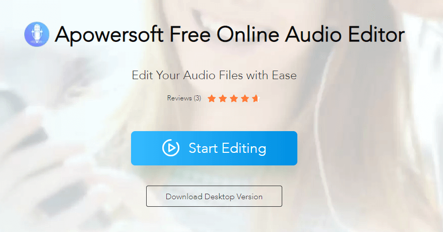 apowersoft audio editor is a free music cutter