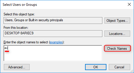 add a new account name in windows