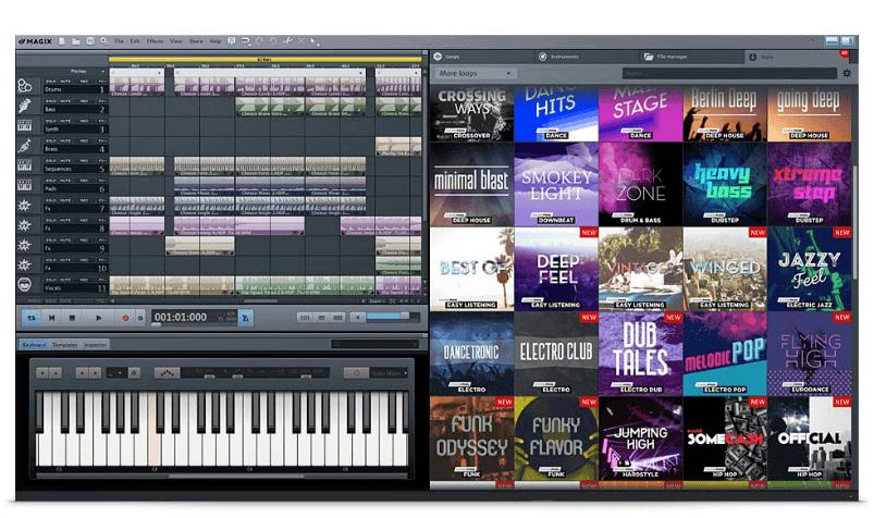 magix music maker is a free music cutter