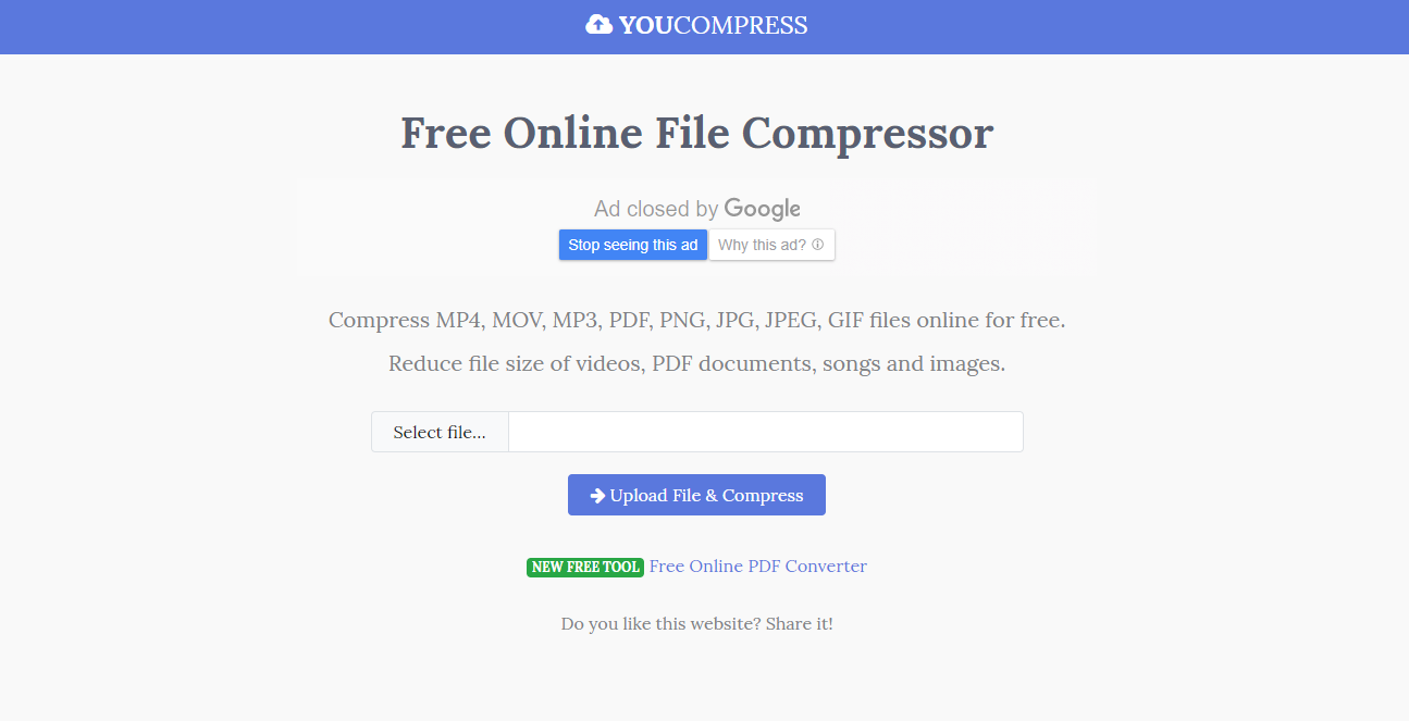 approaches on compressing audio files online for free