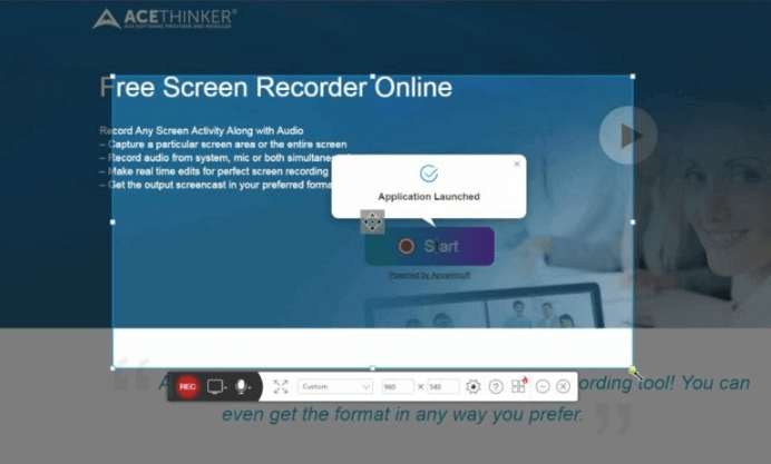 online screen recorder acethinker