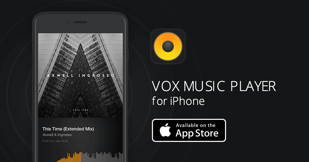 play flac on iphone vox