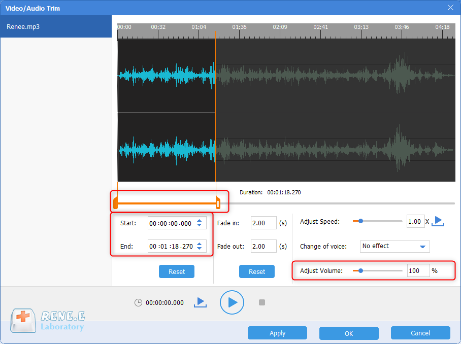 how to edit music and take renee audio tools as a mp3 volume normalizer to adjust