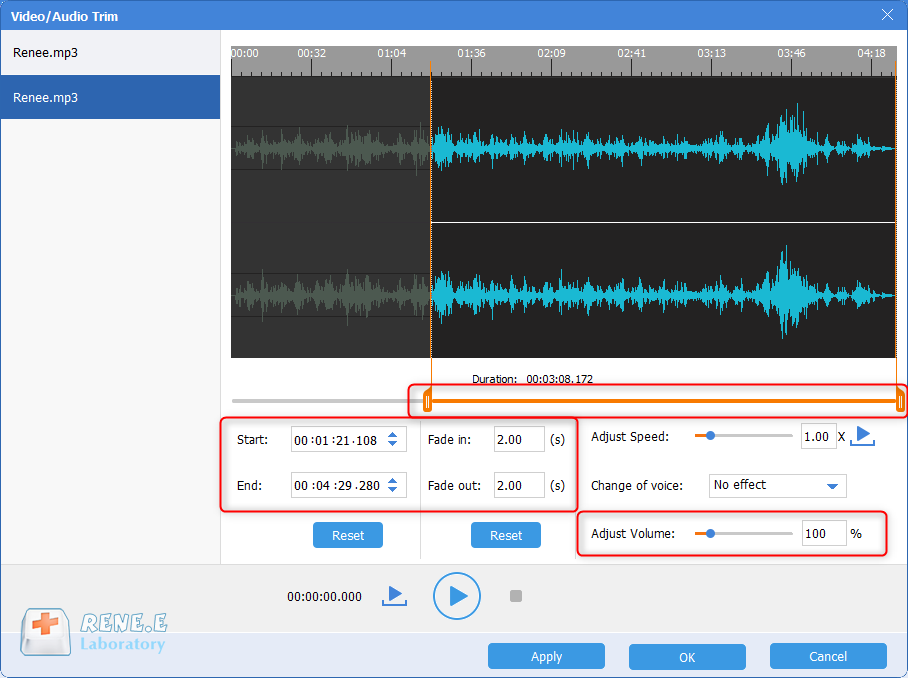 how to eidt music and take renee audio tools as a mp3 volume normalizer to make volume equal