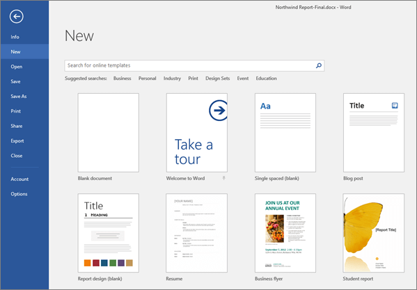 create a blank doucment page in microsoft word