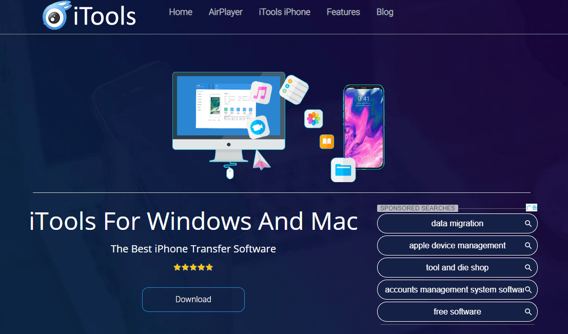 download and install itools
