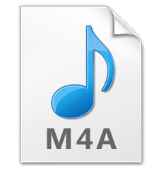 change from flac to m4a