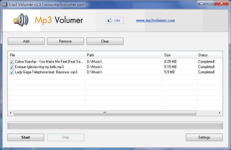 mp3 volumer is a mp3 volume normalizer