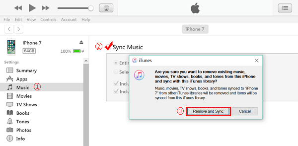 how to transfer cd music from itunes to iphone
