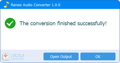 successfully convert formats in renee audio converter flac vs ape
