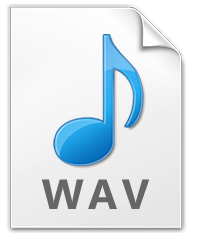 save as wav when sounds have been extracted from video