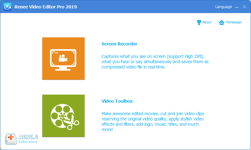renee video editor pro