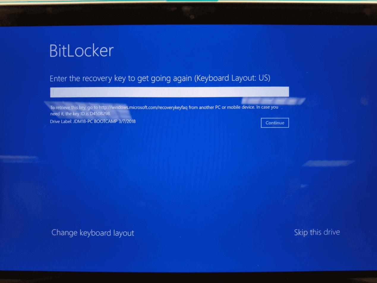 remove bitlocker in windows recovery environment