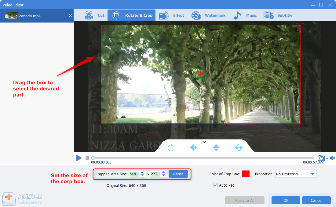 resize video with video resizer