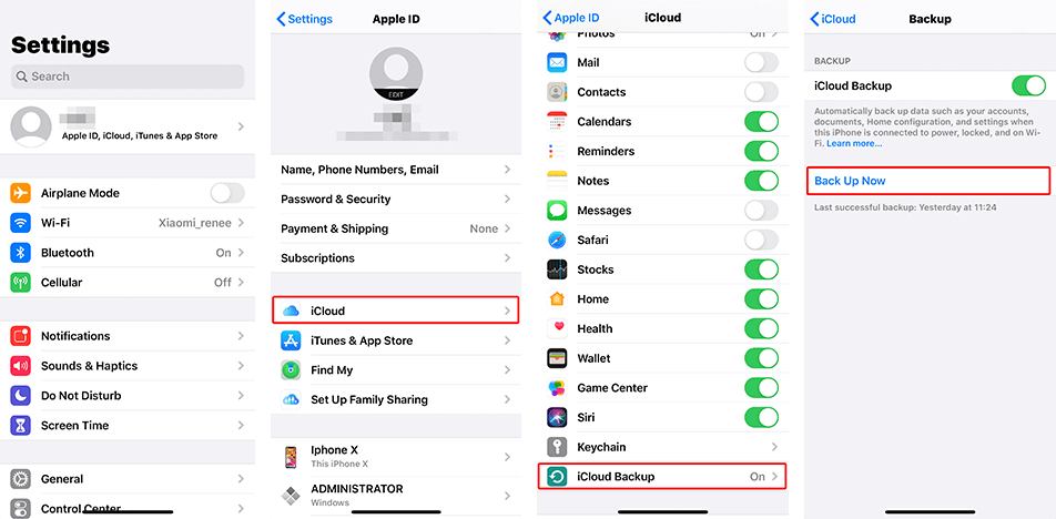 forgot itunes backup password back up iphone before updating to ios 13