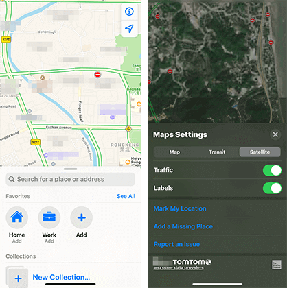 new maps of ios 13 new features