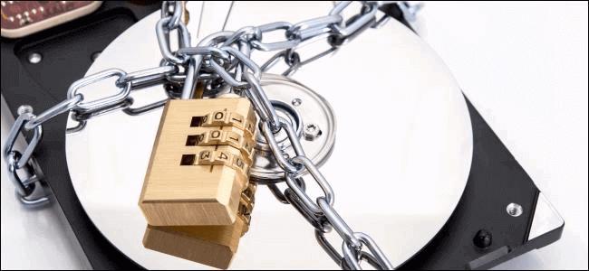 encrypt hard drive