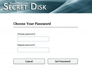 use secret disk to encrypt hard drive