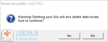 delete silo to prevent data leakage