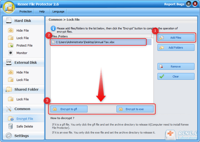 password protect files and folder with folder encryption software
