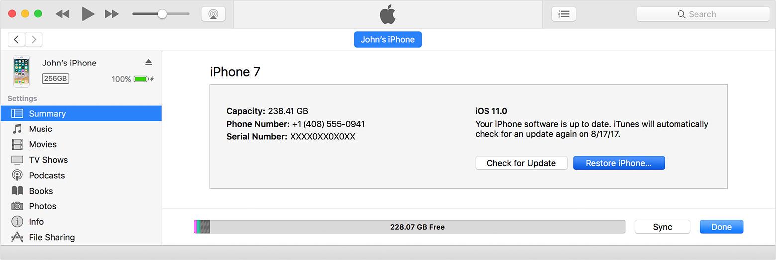 iphone won't update ios restore iphone in itunes