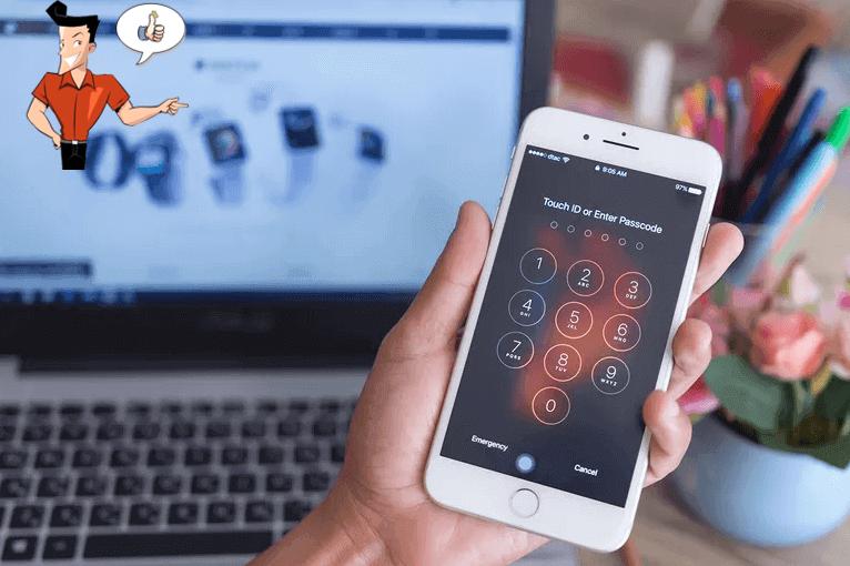 unlock passcode for iphone