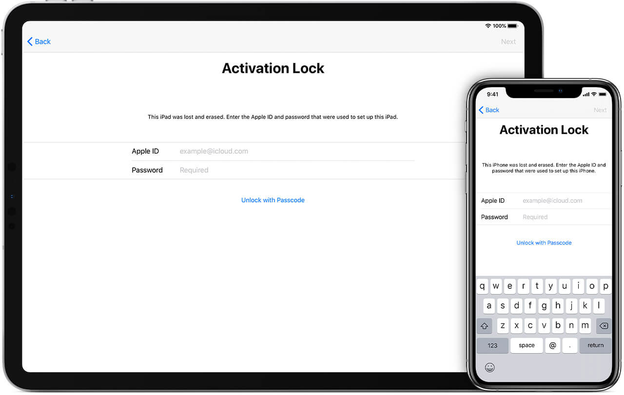 how to remove iphone passcode and activation lock