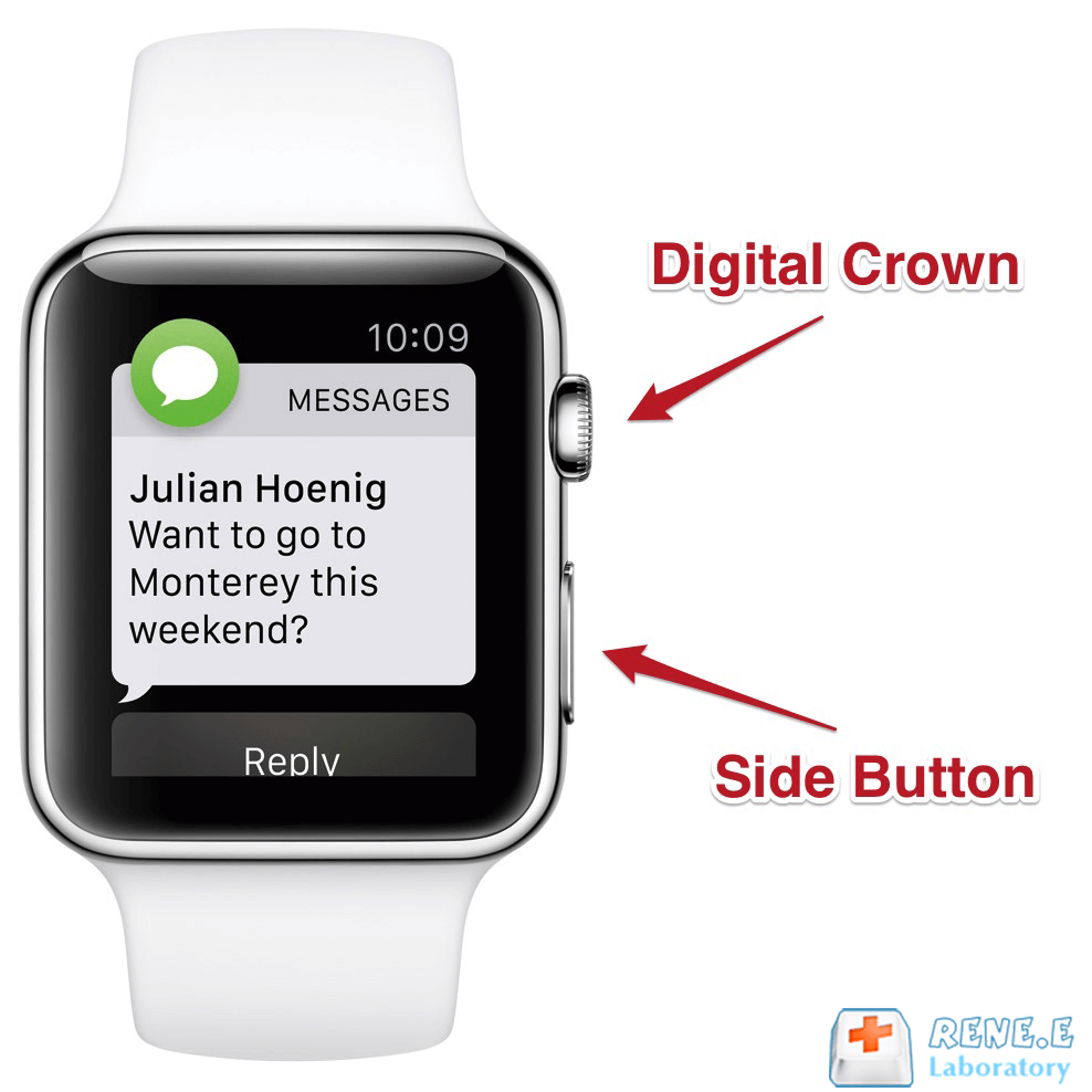 how to force restart apple watch correctly