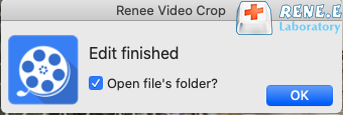save mp3 files on renee video editor mac