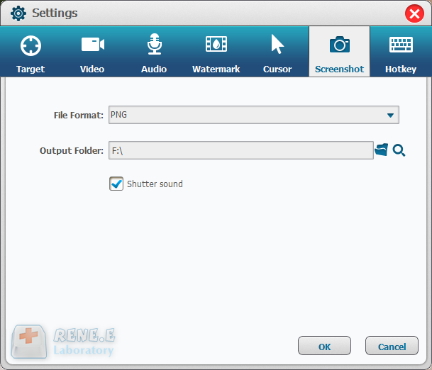 screenshot your recording video with renee video editor pro
