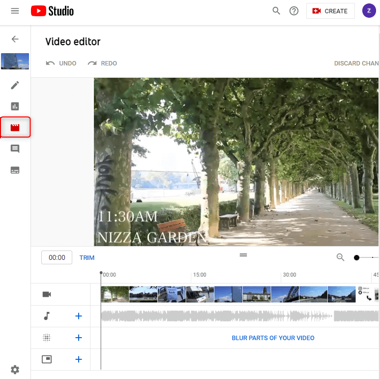 how to edit uploaded youtube video