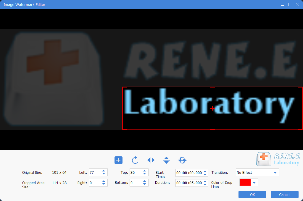 how to add a picture to a video with renee video editor pro
