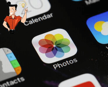 how to use iphone album to save photos