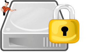 how to password protect external hard drive