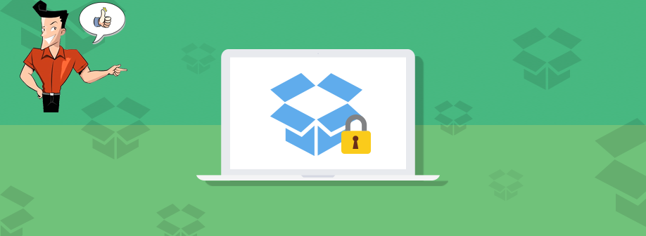 how to password protect dropbox folder