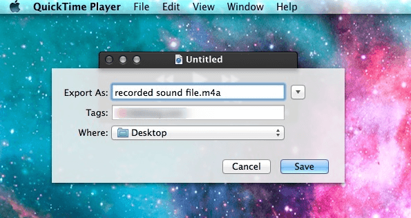 how to use quicktime player to record screen