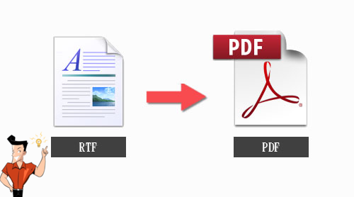 how to convert rtf to pdf