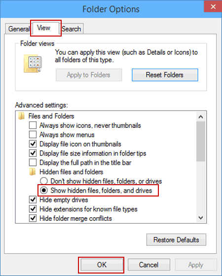 how to hide files in windows 10