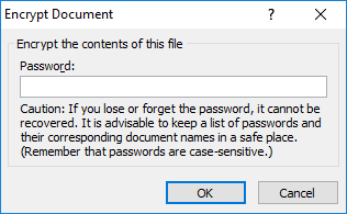 how to password protect excel well