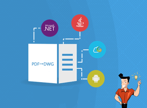 how to convert pdf to dwg