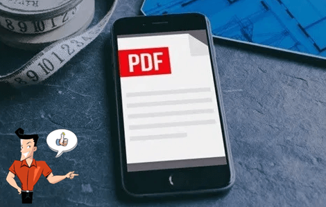 how to save a pdf on iphone