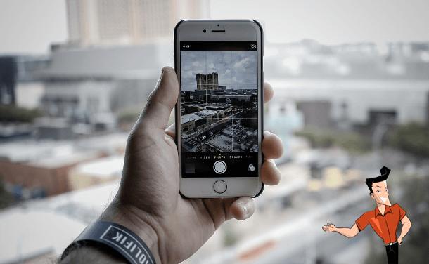 how to crop iphone photos