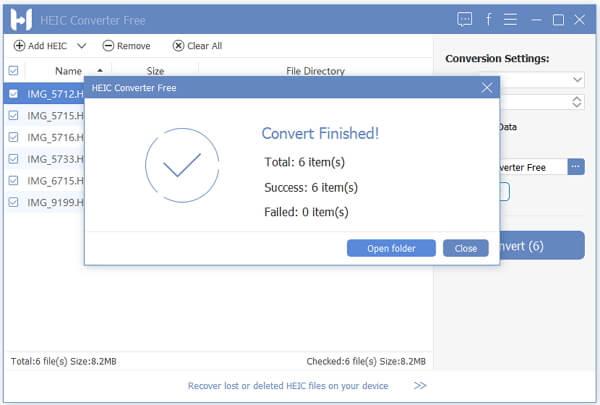 convert heic to jpg with fonepaw heic