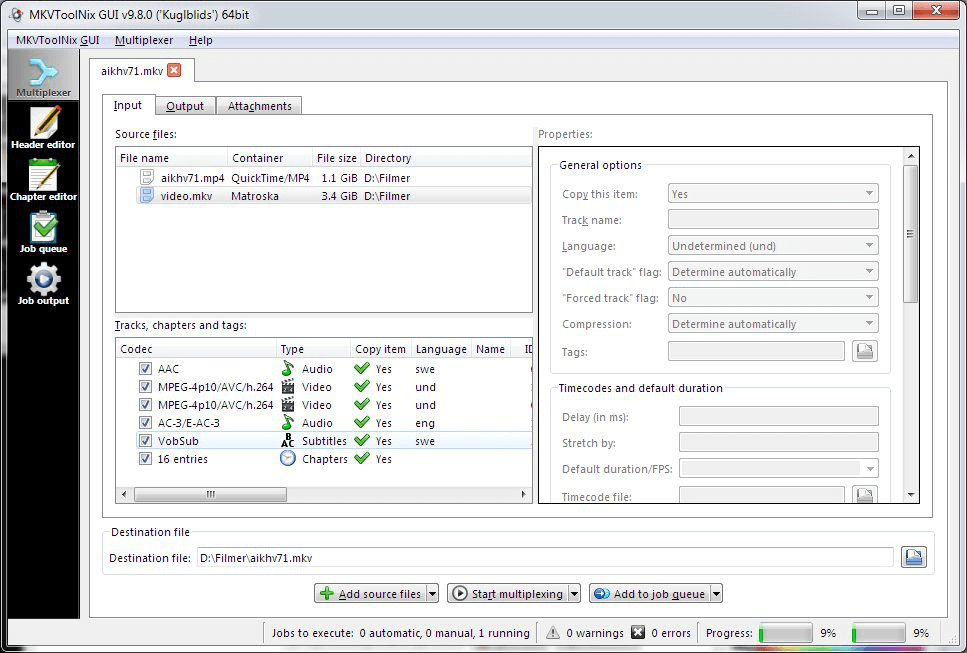 how to extract subtitles from mkv video with MKVToolNix